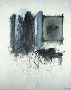 "lyrical abstraction * abstract expressionism (Emilio Scanavino, ""Disposizione Voluta"")"