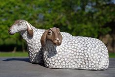 Sheep by Fairweather Sculptures
