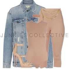 "Styling our ""Denim Daze"" jacket from alyannaclothing.com"