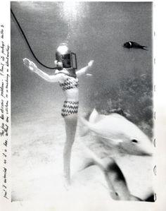#charmcolorfully norman parkinson, bikini