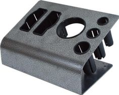 ITA-009B metal tool holder for blow dryer curling and flat irons your choice electrical outlet or not
