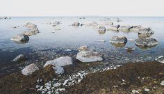 Stones in the ocean  #photography #stones #ocean #summer #travel #Reise #Sweden #Scandinavia #follow4follow #nature #outdoor #pic #Gotland