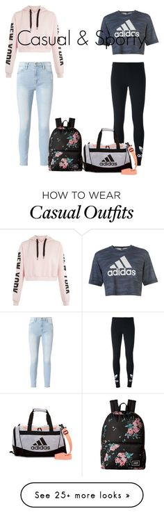"""Casual & Sporty"" by timnna on Polyvore featuring Frame, adidas Originals, adidas and Vans"