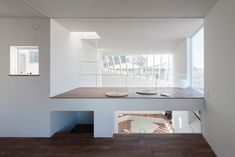 """Beyond The Hill is a residence located in Japan, that is more than just your typical house with an office - it appears to """"float"""" and has an art gallery."""