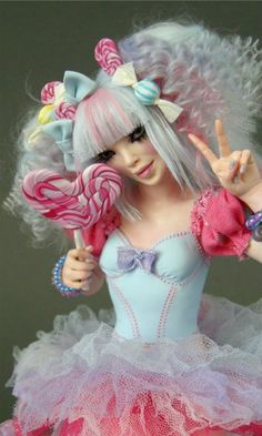 Kawaii Cute Harajuku Girl - Nicole West Fantasy Art