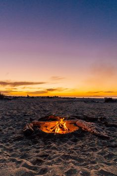Haast Beach, South Island New Zealand is a great place to stargaze by the campfire!
