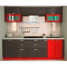 Straight 8 Ft Modular Kitchen