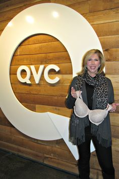 Launching a new style of GO2BRAS on QVC.   Feb 2015 with Connie Elder, founder.
