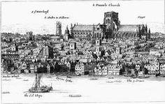St. Paul´s Wharf, 1616