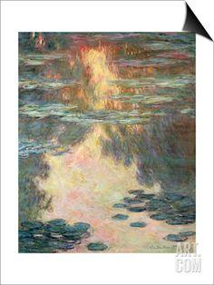Waterlilies, 1907 SwitchArt™ Print by Claude Monet at Art.com