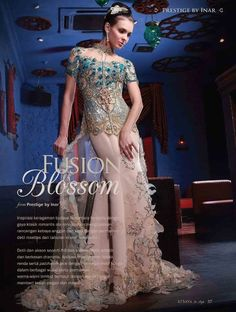 Prestige by Inar for Kebaya in Style Magazine vol. 2    http://www.facebook.com/KebayaInStyle