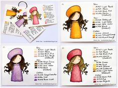 Danielle Daws: My Craft Space - ❤️her wonderful Prismacolor samplers!