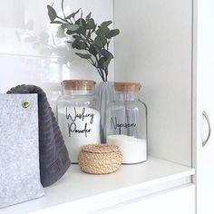 Laundry Label Sets - Pantry Kmart Jars - Pretty Little Designs – Pretty Little Designs Pty Ltd
