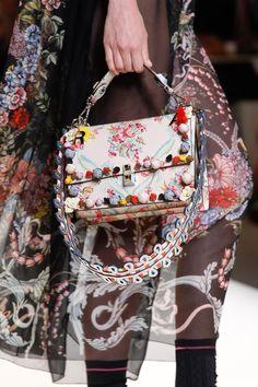 See detail photos from the Fendi Spring 2017 show at Milan Fashion Week.