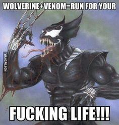 Wolverine + Venom