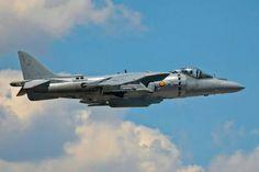 AV-8 Harrier -Armada española Foto by:Mariano Hijo de la noche Barranco