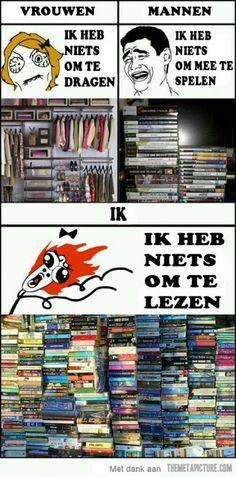 Quote van de week: ik heb niets om te lezen! -- Tekstbureau Van Ginneken