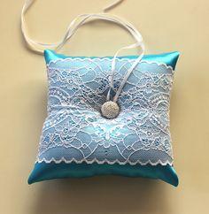 Baby Dusche Kissen blau Braut Hochzeit Ring von MammaMiaBridal, $38.00