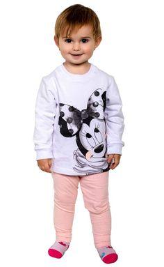 Sportanzug Minnie Mouse Rose Minnie Mouse, Sport, Kind Mode, Onesies, Kids Fashion, Sweatshirts, Rose, Sweaters, Baby