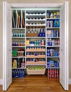 Mudroom Renovation: Pantry Makeover with DIY Shelving