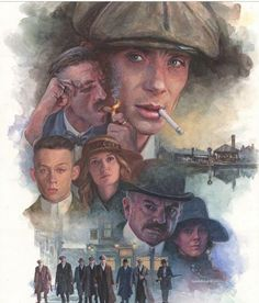 Incredible Peaky Blinders Art. I❤ It!