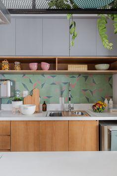Condo Kitchen, Apartment Kitchen, Kitchen Interior, Kitchen Decor, Kitchen Cabinets, Dinner Room, Japanese Interior, Aesthetic Room Decor, Kitchen Collection