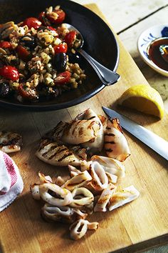 Food-wise, we've taken so much inspiration from France, Italy and Spain  over the past couple of decades in this country. Those countries have great  culinary traditions, but when it comes to European culinary influences, my  personal favorite is Greek food.  I learned a lot about Greek cuisine from  my soccer buddy Marcos and his mom. Going to their house I'd eat things  like moussaka, tsaziki, baklava and Greek Lentil soup. These days you have  chefs like Michael Psilakis and restaurants…