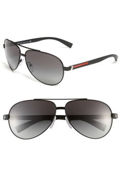 Prada 63mm Aviator Sunglasses Ray Ban Store, Ray Ban Outlet, Ray Ban  Sunglasses, b3950d8dc9f3