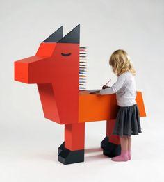 Móveis infantis criados pelo designer e ilustrador francês Guillaumit | nmagazine.com.br