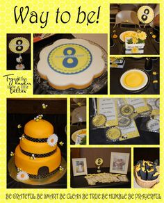 Great to be 8... this would be great for my little Madie who LOVES bees!... Of course that's 2 years away ;)