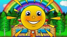 Wir lernen die Farben. Kunterbunte Animation für Kleinkinder - Deutsch