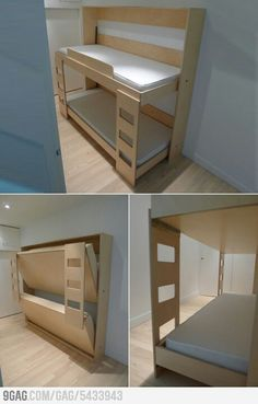 Folding bunk