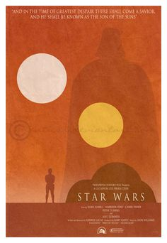 Star Wars minimalist poster by manticor on deviantART
