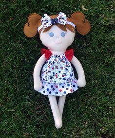 Handmade Doll by jennybracken on Etsy, $40.00
