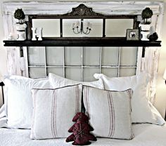 Give Your Master Bedroom A Makeover With An Old Chic Window