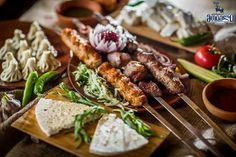 Georgian Food, Beef, Restaurant, Chicken, Meat, Diner Restaurant, Restaurants, Steak, Dining