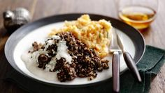 Celebrate Burns Night with The Hairy Bikers' recipe of haggis, neeps, tatties and whisky sauce.