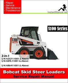 57 best bobcat skid steer loader service manual pdf images on rh pinterest com Bobcat Service Manual PDF 463 Bobcat Repair Manual PDF