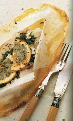 Fish in paper Recipe | Allyson Gofton