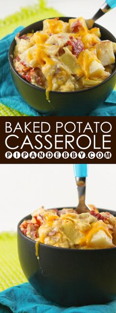 Baked Potato Casserole with Artichokes and Sun-Dried Tomatoes | Super ...