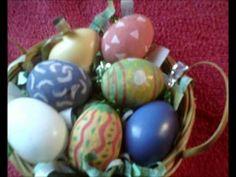 ▶ Le secret de Marine pour décorer et faire briller les oeufs de Pâques - YouTube