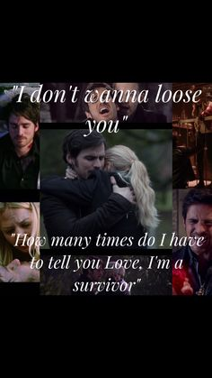 """I'll Never Stop Fighting For Us"" Captain Swan- Emma Swan- Killian Jones- Captain Hook- Sheriff Swan- Once Upon A Time- Camelot- True Love-"