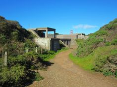 Battery Crosby ~ Fort Scott ~ The Presidio National Park ~ San Francisco ~ California ~ Part of the Harbor defense.