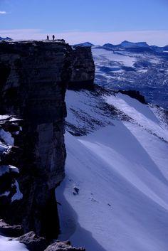 View North from Mt Coates, Antarctica.