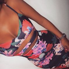 not a fan of floral but I love this two piece set.