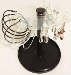 DIY CD case earring holder in 3 simple steps
