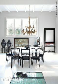 Nell'appartamento milanese di Andrea dall'Olio#interiordesign