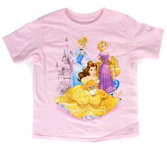 Pink Disney Princesses Pals T-Shirt