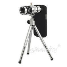 12X Optical Zoom Lens Camera Telescope Case For Samsung Galaxy Note 2 N7100 [NPTL-X1271] - $29.00