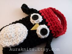 Whimsical Penguin Cell Phone Cozy | by DulceKnits